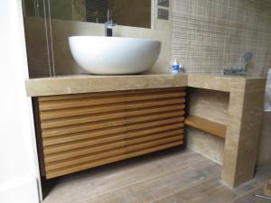 Mobile bagno falegnameria grando for Arredo bagno roma sud